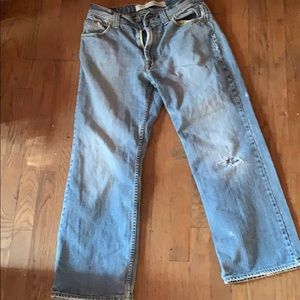 Other - Men's Surplus Boot Jean Unique Style Distressed